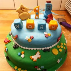 child's novelty birthday celebration cake